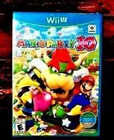 Mario Party 10 - Nintendo Wii U - World Edition - Region Free - Brand New