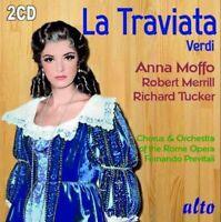 2 CD BOX VERDI LA TRAVIATA ANNA MOFFO ROBERT MERRILL RICHARD TUCKER 1960