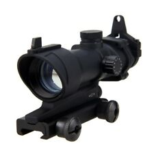 1x 32 Green&Red Dot Laser Hunt Rifle Holographic Telescope Sight Scope 20mm Rail