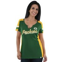 Green Bay Packers Womens Majestic Pride Playing T-Shirt - Large & Medium - NWT
