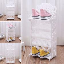Newest Doll Shoe Rack House Accessories Barbie Furniture Children Toys Storage