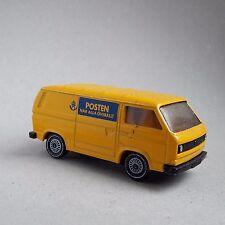 Siku VW Transporter Sweden Post Die cast toy car T25 Mail van delivery