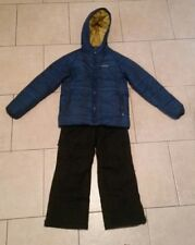 EUC EDDIE BAUER jacket,COLUMBIA snow pants,both insulated,boys10 ski board suit