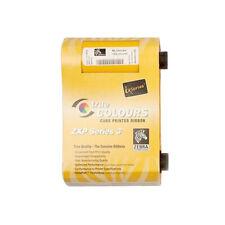 Genuine Zebra 800033-840 YMCKO ZXP 3 Series Color Ribbon 200 Prints
