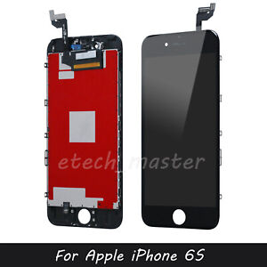 """For iPhone 6S 4.7"""" Black LCD Replacement Display Touch Screen Digitizer Assembly"""