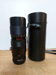 Vintage Karl Gener Auto Zoom Camera Lens 1:4 F=70 220mm Used Working