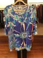small Lulu B High-low Print Tunic Retail $59