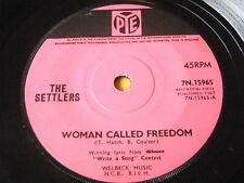 """Les colons-Femme a appelé la liberté 7"""" vinyle"""