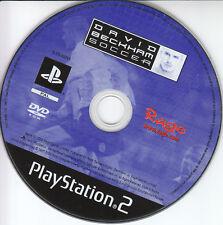 Sony ps2 Game PlayStation 2 Rage david beckham Soccer PAL