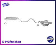 Auspuffanlage Opel Vectra C / GTS 1.6 1.8 Auspuff mit Chromblende Schelle