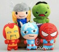 Avengers Endgame Plush 20cm Soft toys Thor Hulk Ironman Spiderman Melbourne