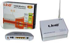MODEM ROUTER ADSL2 + WIFI WIRELESS LINQ LAN SWTICH SUPPORTA  IEEE 802.11b/g/n