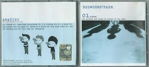 CD RED WORMS' FARM Amazing! (Fooltribe 2005) 1st ps Italian indie noise rock M!