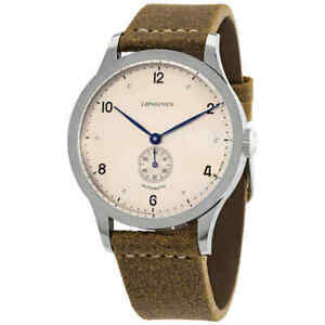 Longines Heritage 1945 Automatic Copper Dial 40mm Watch L2.813.4.66.0