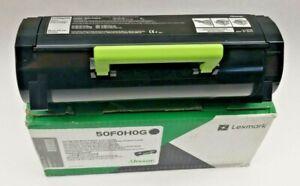 Lexmark 50F0H0G Black Toner Cartridge for OfficeJet Ms310 410 510 610 New Sealed