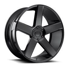 22x9 Dub S216 Baller 5x115 ET15 Black Wheels (Set of 4)