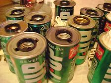 7-UP SODA LAMPS - VINTAGE & NOVELTY LAMPS - LOT OF 18