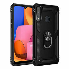For Samsung Galaxy A20S Case Cover + Holster Belt Clip Stand + Screen Protector
