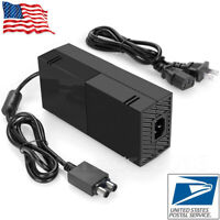 For Microsoft Xbox One, Xbox 1 Console Adapter Charger Power Supply Brick+ Cord