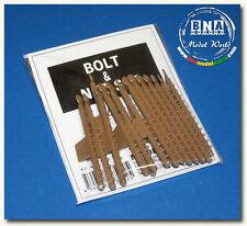 Modelkasten 1/35 Bolt & Nut Head Set (15 Sprues) A-1