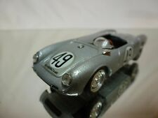 BRUMM R194 PORSCHE 550 1500 RS LE MANS 1955 - SILVER 1:43 - GOOD CONDITION