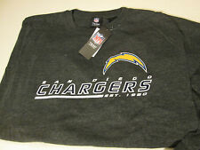 SAN DIEGO CHARGERS MENS SZ 6XL LONG SLEEVED LICENSED T-SHIRT -GREY- NWT