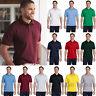Hanes Mens EcoSmart Jersey Knit Polo Golf Sport Shirt S-4XL 054X-054