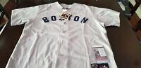 Autographed/Signed Boston Red Sox Carlton Fisk Gray XL Jersey JSA COA