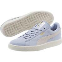 Women's Puma Nova Suede Casual Shoes Whisper WhiteCerise