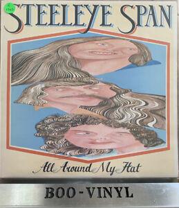 Steeleye Span All Around My Hat Vinyl Record LP CHR 1091 EX CON