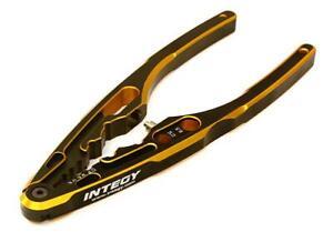 Integy Multipurpose Pliers w/ Ball End Tool for RC Shocks C27658GOLD