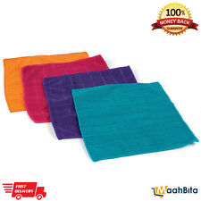 BELDRAY 4 X Microfibre Cleaning Cloths Duster Kitchen Home Washable Reusable NEW