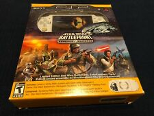 Sony PSP 2000 Star Wars Battlefront Renegade Squadron Open Box New Set !!!