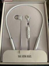 BEATS BY DR DRE BEATSX IN EAR BLUETOOTH HEADSET IN BOX Original BeatsX WHITE
