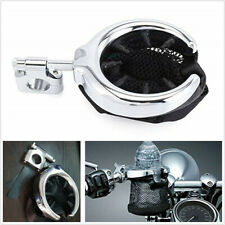 "1 Pcs Adjustable Chrome Motorbike ATV 7/8""&1'' Handlebar Cup Drink Holder Basket"