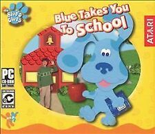 Video Game PC Blue's Clues Blue Takes You to School NEW SEALED Jewel