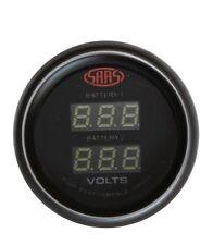 Dual Battery Monitor Digital  Dual Voltage GAUGE Toyota Prado Landcruiser, Hulux