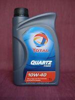 1 Litros TOTAL Cuarzo 7000 10w-40 ACEITE DE MOTOR / parcialmente Sintético