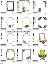 FRAMES V.3 - (5x7) - LD MACHINE EMBROIDERY DESIGNS
