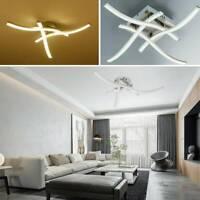 Modern LED 3 4 Light Ceiling Lights Kitchen Living Bedroom Pendant Lamps UK