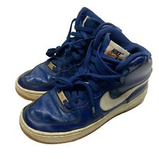Nike Boys Air Force 1 High GS Coastal Blue Shoes 653998-410 Grade School Size 6Y
