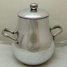 Egypt Egipto Египет Ägypten Vintage Stainless Steel Bean Pot with Lid, (Damasa)