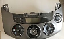 TOYOTA RAV 4  HEATER CONTROL SWITCHES WITH AIR CON + PUSH START - 2009