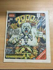 2000AD PROG 205 (28 MARCH 1981) UK LARGE PAPER COMIC - JUDGE DREDD