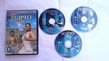 EGIPTO III EL DESTINO DE RAMSES PC CD-ROM ORDENADOR PAL ESPAÑA.MUY BUEN ESTADO