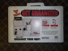 WALLABY MODULAR OFFICE ORGANIZER EASY WALL MOUNTING - NOS