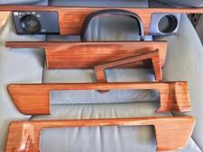 Mercedes 126 300SD 300SE 300SEL 380SE 420SEL Zebrano Wood Dashboard Trim Set !
