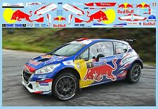 PEUGEOT 208 R5 AVCI-GUCENMEZ EGE RALLISI 2017  DECALS 1/43