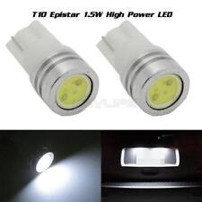 2x New LED Light T10 W5W 194 168 For 12V Car License Plate White Bulbs