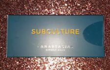 AUTHENTIC NIB Anastasia Beverly Hills SUBCULTURE Eye Shadow Palette Eyeshadow